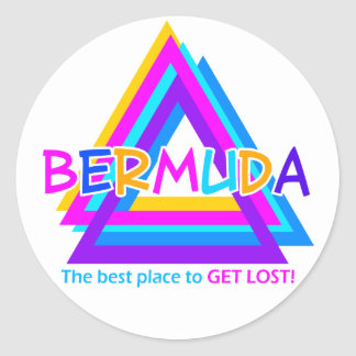 BERMUDA TRIANGLE stickers