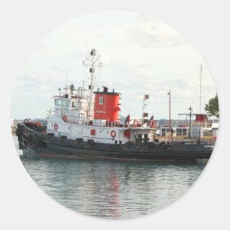 Bermuda Tug sticker