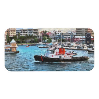 Bermuda - Tugboat Going Into Hamilton Harbour iPhone 5/5S Cover