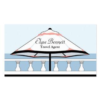 Bermuda Umbrella Profile Card Business Cards
