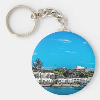 Bermuda View Key Ring