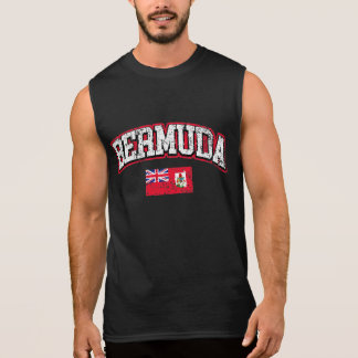 Bermuda Vintage Flag Sleeveless Shirt