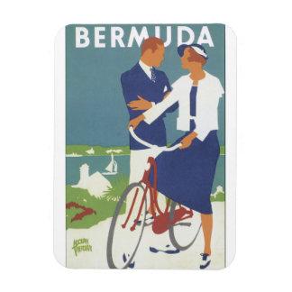 Bermuda Vintage Travel Poster Magnet