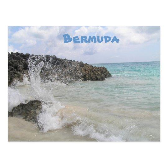 Bermuda Wave Postcard
