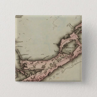 Bermudas 15 Cm Square Badge