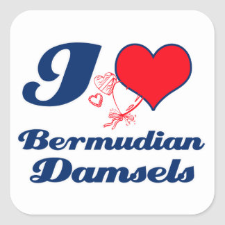Bermudian design stickers