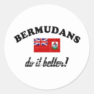Bermudian do it better stickers