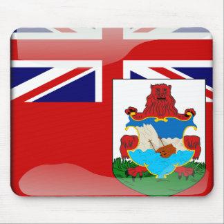 Bermudian glossy flag mouse mat