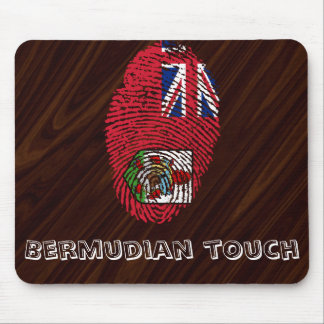 Bermudian touch fingerprint flag mouse mat