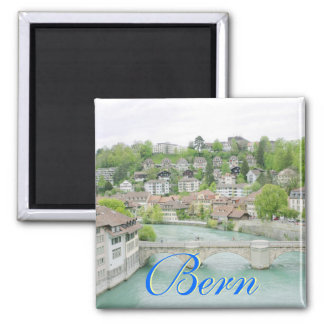 Bern, Switzerland Square Magnet