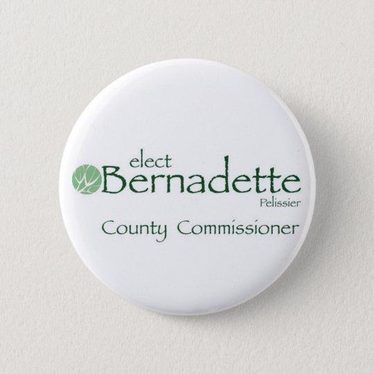 Bernadette for Commissioner Buttons