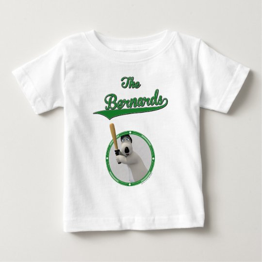 Bernard Bear Baseball Merchandise Baby T-Shirt