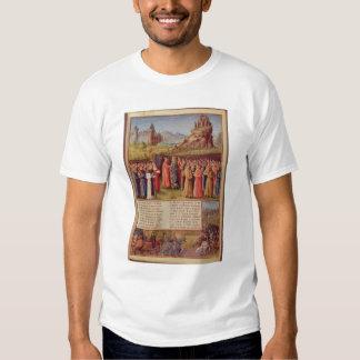 Bernard  of Clairvaux preaching Second Crusade T-shirts