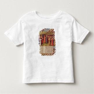 Bernard  of Clairvaux preaching Second Crusade Toddler T-Shirt