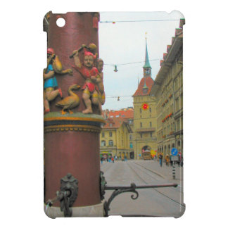 Berne, Decorated fountain and tower Cover For The iPad Mini
