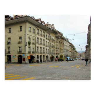 Berne old city - Shopping street with arcades Postcard