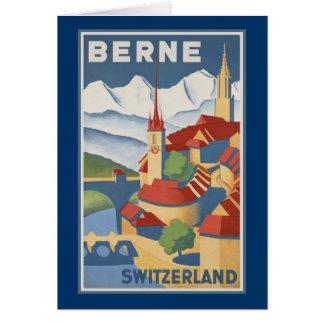 Berne Switzerland Card