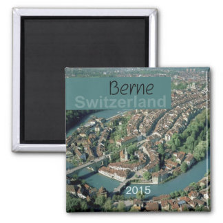 Berne Switzerland Fridge Magnet Change Year