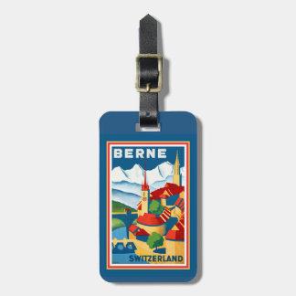 Berne, Switzerland Luggage Tag