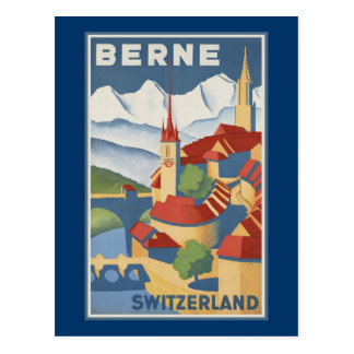 Berne Switzerland Postcard