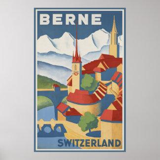 Berne Switzerland Poster