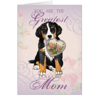 Berner Heart Mom Greeting Card