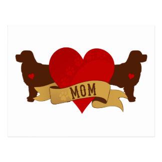 Berner Mom [Tattoo style] Postcard
