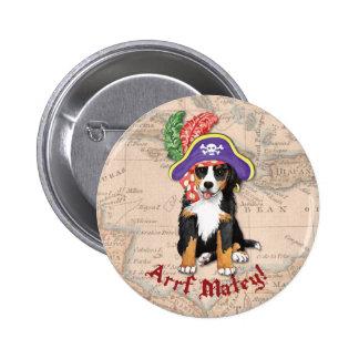 Berner Pirate 6 Cm Round Badge