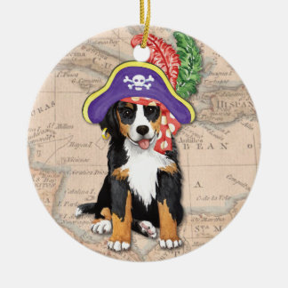 Berner Pirate Round Ceramic Decoration