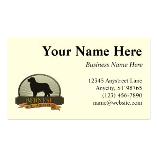 Bernese Pack Of Standard Business Cards