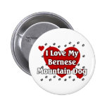 Bernese Mountain Dog 6 Cm Round Badge