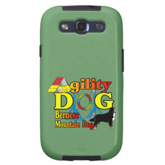Bernese Mountain Dog Agility Samsung Galaxy SIII Covers