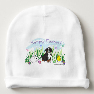 bernese mountain dog baby beanie