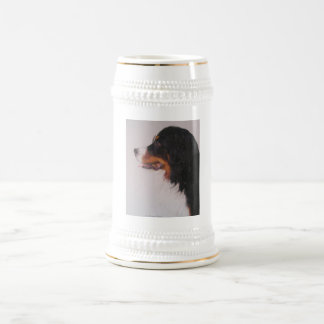 Bernese Mountain Dog Beer Stein