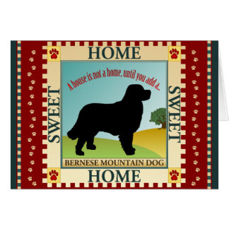 Bernese Mountain Dog [Berner] Card