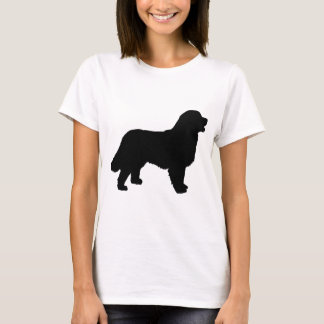 Bernese Mountain Dog (black silhouette) T-Shirt