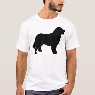 Bernese Mountain Dog (black silhouette) T-Shirt