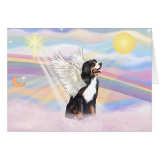Bernese Mountain Dog Card