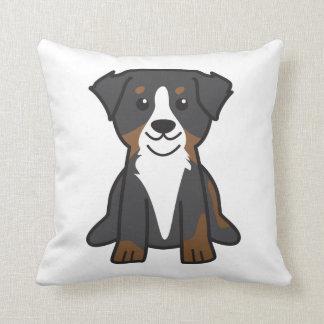 Bernese Mountain Dog Cartoon Cushion