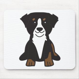 Bernese Mountain Dog Cartoon Mouse Pad