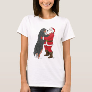Bernese Mountain Dog Christmas Greeting T-Shirt