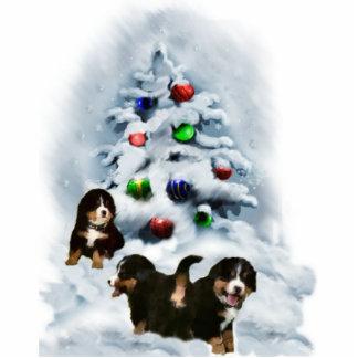 Bernese Mountain Dog Christmas Ornament Photo Sculpture Decoration