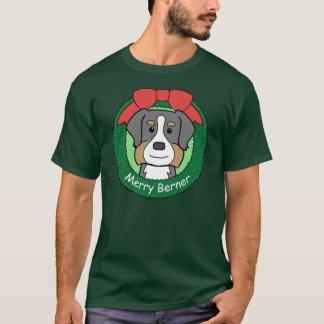 Bernese Mountain Dog Christmas T-Shirt
