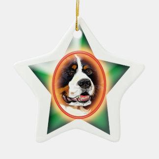 Bernese Mountain Dog customizable ornament