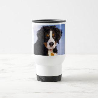 Bernese Mountain Dog - Cute Puppy Photo Coffee Mug