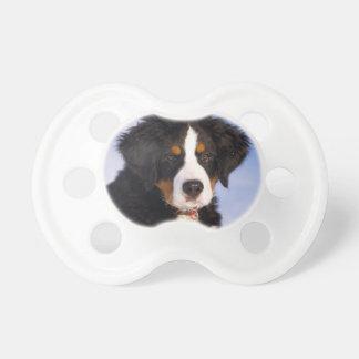 Bernese Mountain Dog - Cute Puppy Photo Pacifier