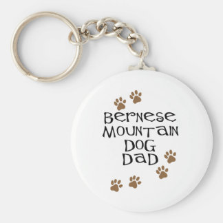 Bernese Mountain Dog Dad Key Ring