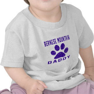 Bernese Mountain Dog Daddy Gifts Designs Shirt
