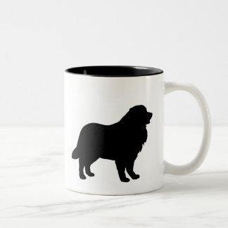Bernese Mountain Dog Gear Two-Tone Mug