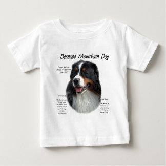 Bernese Mountain Dog History Design Baby T-Shirt